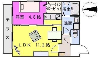SUN STELLA / 301号室間取り