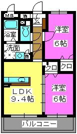 URESHISO / 302号室間取り