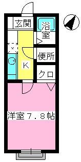メゾン・ド・アイム / 103号室間取り
