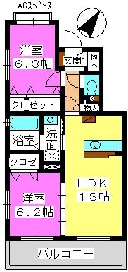 ステラ藤 / 301号室間取り