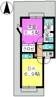 シャルマン4 / 102号室間取り